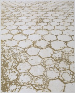 "© Amy Bay, 2001, ""Pathway"". Screenprint, 60"" x 48""  image, 72"" x 60"" sheet. Not available."