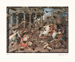 "© Heide Fasnacht 2013, ""Triumph of Titus,"" archival inkjet print, 14"" x 19"" image, 19"" x 23"" sheet, edition of 8. Price: $1,400"