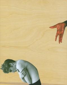 "©Deborah Grant 2008, ""Don't Fuck With Willa Mae (Big Mama) Thorton,"" digital print, screenprint, collage on wood veneer, 14"" x 11"" image and sheet.  Price: $850"