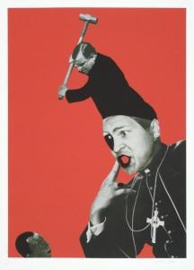 "© Deborah Grant 2007, ""Zambo-Negro (Perfectly Black)"", digital print, screenprint and collage,  28.25"" x 20"" image, 30.50"" x 22"" sheet.Price: $1,350"