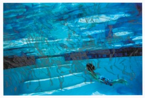 "© Sebastiaan Bremer 2006, ""Aquarium = Blue"", intaglio and archival inkjet print, 11.25"" x 17"" image, 17.75"" x 22.85"" sheet. Price: $3,000"