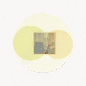 "© Steven Millar 2013, ""Orbit,"" archival inkjet and screenprint, 9"" diameter image, 13"" x 13"" sheet, edition of 6. Price: $600"