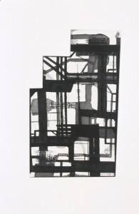 "© Sheila Pepe, 2004, ""E. 4th Near Bowery"". Intaglio print, 17.75"" x 11"" image, 30.75"" x 22.50"" sheet.Price: $500"