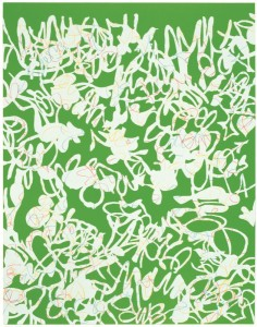 "© Amy Kao 2007, ""Liminal #1"", screenprint and linocut, 28"" x 22"" plate, 33"" x 26"" sheet.Price: $1,600"