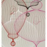 "KleinReid (Eva Zeisel, James Klein and David Reid). ""StillLife: Birdcages,"" 2005.  Screenprint. 25"" x 17"" image, 31"" x 21"" sheet. Edition of 250.  List Price: $235; Sale price: $200 / $475 framed."